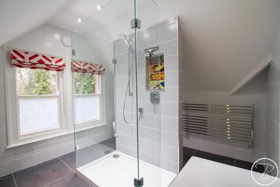Guest En Suite Bathroom: Guest Ensuite Bury St Edmunds