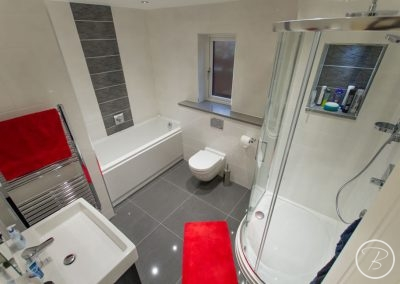 Bathroom in Newmarket – September 2015