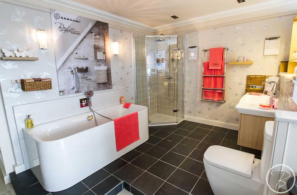 Baytree Bathrooms Showroom in Bury St Edmunds, Suffolk, East Anglia